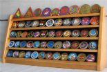 Coin, Medal or Casino Poker Chip Display Stand